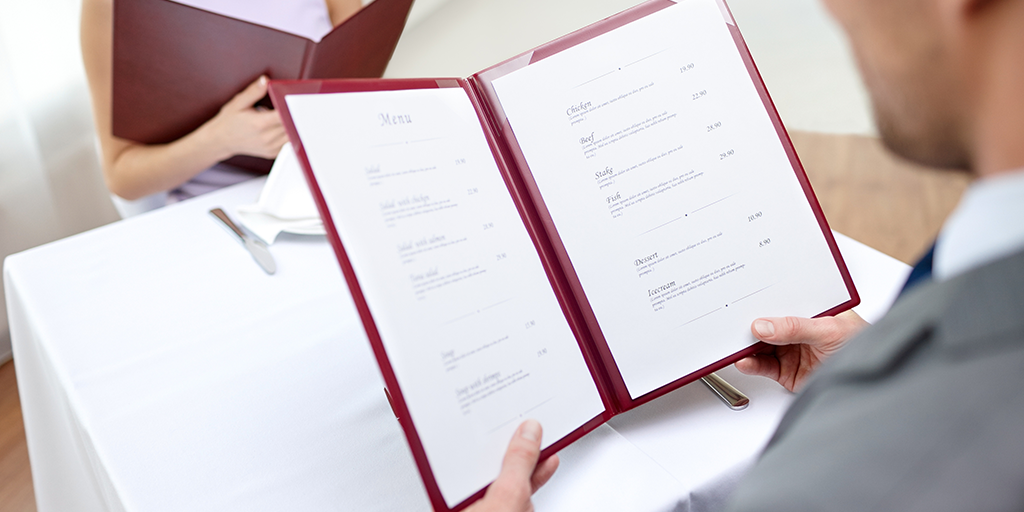 How Should I Price My Restaurant Menu?
