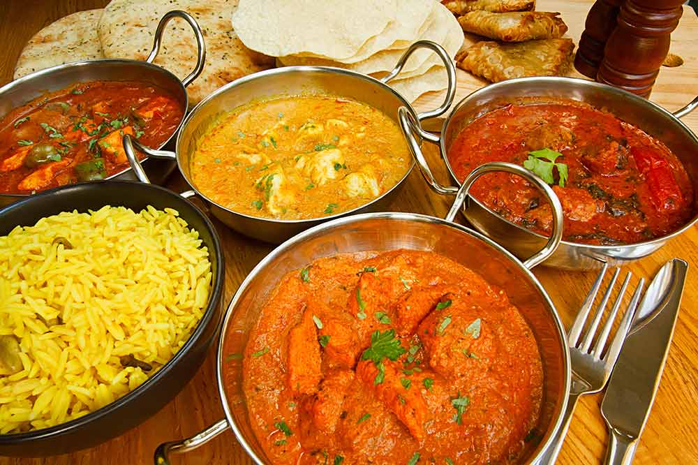 Indian Food Restaurants Menu