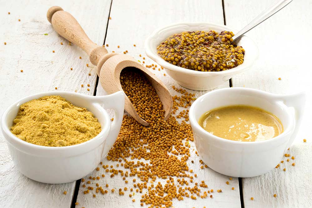 Indian spices: Yellow Mustard