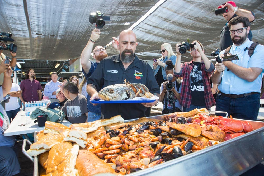 Rn how san pedro fish market and restaurant grew from 30 for King fish market